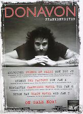 DONAVON FRANKENREITER 2008/2009 AUSTRALIAN CONCERT TOUR POSTER - Rock Music