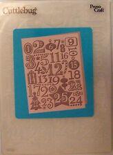 # Cuttlebug Christmas Countdown 5 x 7 Emboss Folder