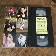 NATALIE MERCHANT - OPHELIA 1998 VHS short film MUSIC VIDEOS must have POP ROCK