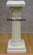 Säule Blumensäule Tisch Design Barock Säulen Antik Stuckgips Deko 1008 Crem