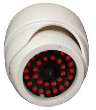 Indoor Dummy Fake Dome Security Surveillance white Camera - 30 Illuminating LEDs