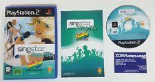 SingStar pop hits 40 principales , PLAYSTATION 2, PAL-ESP