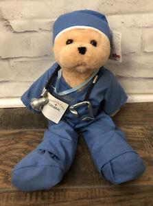 """Chantilly Lane 19"""" Male Scrubs Bear Singing """"Bad Case Of Loving You"""" Dr Nurse"""