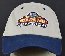 Highland Park Market Grocery Store Company baseball hat cap adjustable strap.