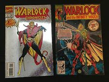 Adam Warlock Set : The Warlock Chronicles #1 / Warlock and the Infinity Watch #1