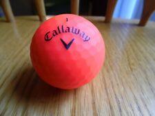 Callaway Red Supersoft Super Soft Matte Finish Golf Ball Red Matte Finish