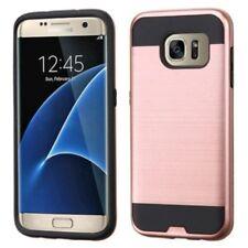 Étuis, housses et coques noirs Samsung Galaxy S7 en métal pour téléphone mobile et assistant personnel (PDA)