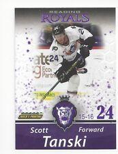 2015-16 Reading Royals (ECHL) Scott Tanski (Braehead Clan)