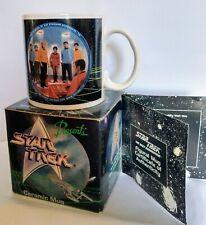 Star Trek Ceramic Mug with the Original Enterprise Crew (©1991)
