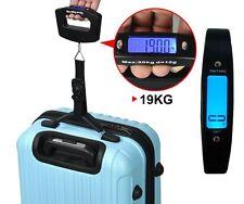 Portatile 50kg Digitale Pesatura scala appesa Viaggio Valigia Bagaglio Borsa e scala