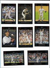 2007 Topps NEW YORK YANKEES Complete 29 Card Team Set Mantle Jeter Torre Cano