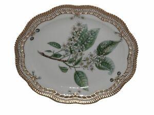 Royal Copenhagen Flora Danica Oblong Platter with Pierced Border No Reserve