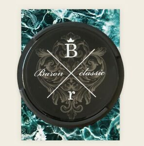 Better then Siberia 10x Baron Black 40mg Nikotin Dry Snus Kautabak Chewing Bags