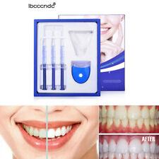 Pro Teeth Whitening Tooth Whitener LED White Light Oral Gel Dental Bleaching Kit