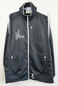 CANADA OLYMPIC TEAM Track Jacket Vancouver 2010 Men's XL Jumper Sweater Canadian