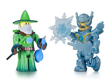 Roblox- Emerald Dragon Master and Frost Guard General Two Figure Pack