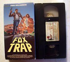 VHS: Fox Trap: Vestron Video: Fred Williamson rare action