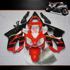 Black&Red ABS Injection Fairing Bodywork Set Fit For Honda CBR600 F4i 2001-2003