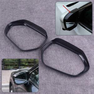 Wing Side Mirror Rain Board Guard Eyebrow Sun Shade Shield fit forToyota Corolla