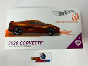 NEW!  2020 Corvette * 2021 Hot Wheels id Car Case D