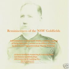 CD - Gold - Reminiscenses of the NSW Goldfields - 11 ebooks + Maps
