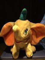 "DisneyLand Walt Disney World DUMBO Elephant Plush 13"" Tall"