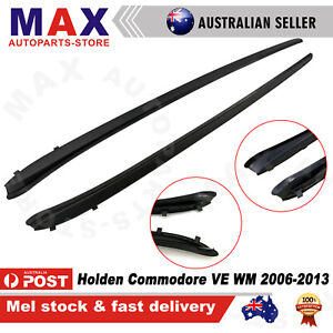 Front Black Windscreen Moulds Seals For Holden Commodore VE WM 2006-2013