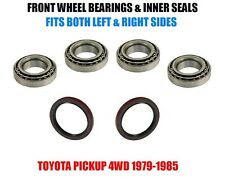 Toyota Pickup 4WD Front Wheel Bearings & Seals Set 1979-1985