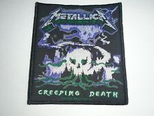 METALLICA CREEPING DEATH WOVEN PATCH
