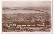 Angus; Dundee & The Tay Bridge RP PPC By JB White, Unused, Note Factory Chimneys