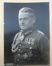 Foto Portrait Heer General mit seltenem Reiterabzeichen Studioportrait