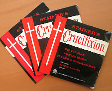 "Stainer's Crucifixion Luton Choral Society 3x10"" Vinyl Pilgrim Records LP 1007-9"