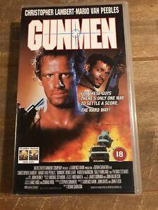 Gunmen VHS Video Christopher Lambert Mario Van Peebles