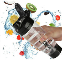 600ml Electric Protein Shaker Bottle Mixer Cup Portable Drink Bottle Outdoor