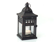 Laterne Lucca Kerzenhalter Windlicht 24 cm hoch Teelicht Garten Deko K16125
