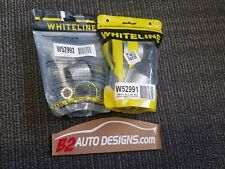 Whiteline Front Inner & Front shock mount bushing kits. W52991, W52992 350Z G35