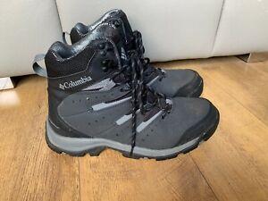 RRP £110 COLUMBIA WATERPROOF WALKING BOOTS Hiking GUNNISON II OMNI-HEAT UK 10.5