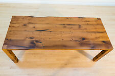 Reclaimed Oak Dining Table  - Made From Antique Brown Oak