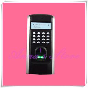 Professional Fingerprint Time Clock Door Access Control System+TCP/IP+Software