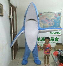Carnival Shark Mascot Costume suits Fancy Party Adults Dress Xmas advertising