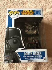 Chrome Darth Vader Funko Pop Vinyl Figure 01 Star Wars Disney