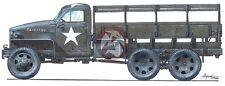 CMK 1/35 Studebaker US6-U3 2.5Ton 6x6 Cargo Truck WWII (Full Resin kit) RA013