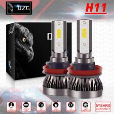 H11 Combo LED Headlight Kits 120W High/Low Beam Bulbs 6000K White