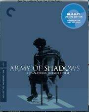 Army of Shadows Blu-ray Criterion Collection OOP Brand New Blue Sticker included