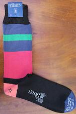 Corgi Mens Cotton Socks Size X-Large Multicoloured Made in Wales Medium Thick