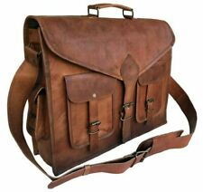 Bag Leather Style Men Shoulder Handbag Bags Business Messenger New Brown