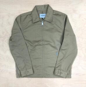 Carhartt Wip Modular Jacket in Leather Denison Twill Summer Coat