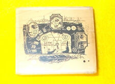 Acey Deucy dream collage nude rubber stamp P2238 Lynne Perella Stampington & Co