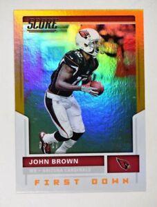 2017 Score First Down #160 John Brown /10 - NM-MT