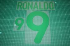 Flocage RONALDO pour maillot BRESIL patch football shirt Brasil Brazil